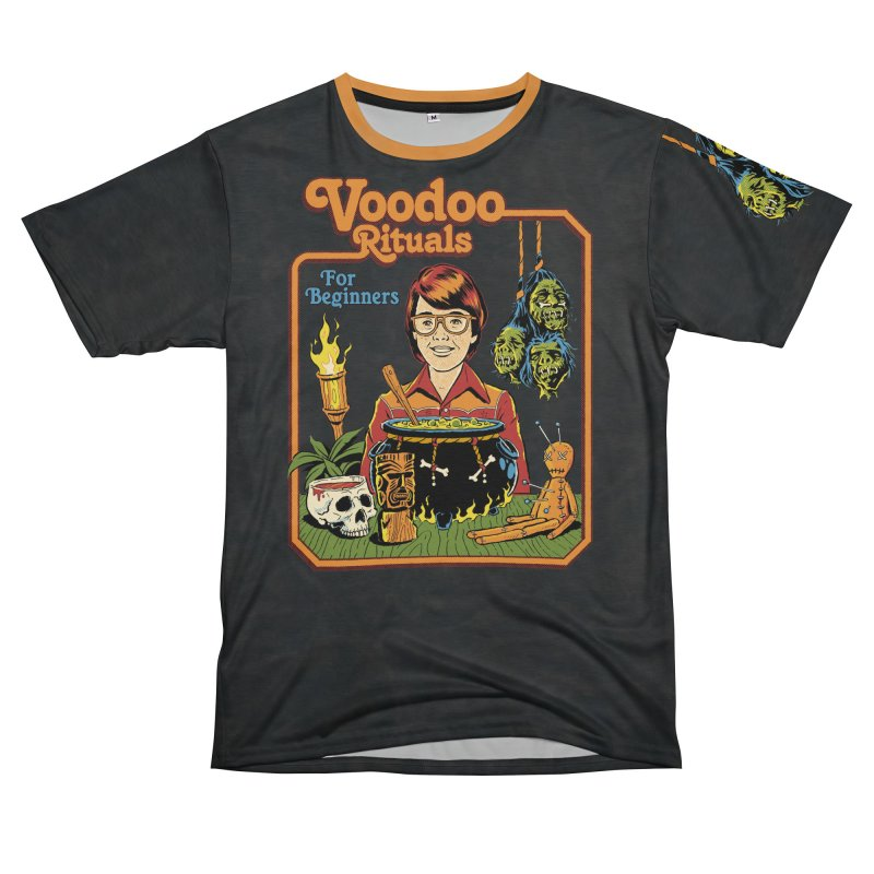 Voodoo Rituals For Beginners Men's T-Shirt Cut & Sew by Steven Rhodes