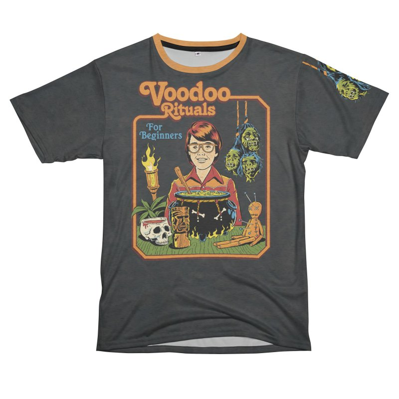 Voodoo Rituals For Beginners Women's Unisex French Terry T-Shirt Cut & Sew by Steven Rhodes