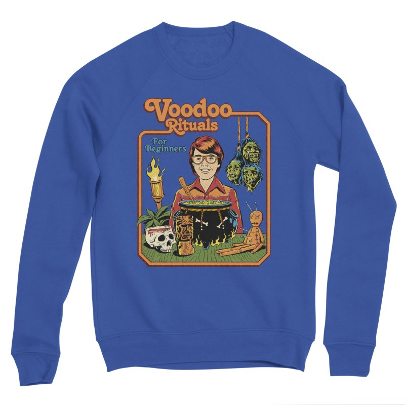 Voodoo Rituals For Beginners Men's Sweatshirt by Steven Rhodes