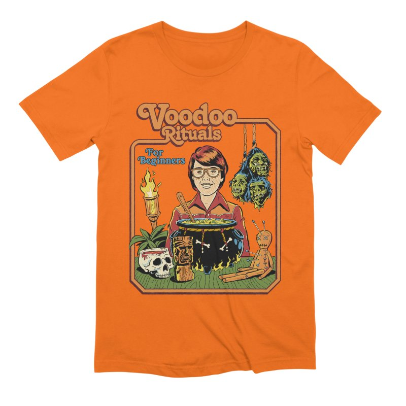Voodoo Rituals For Beginners Men's Extra Soft T-Shirt by Steven Rhodes
