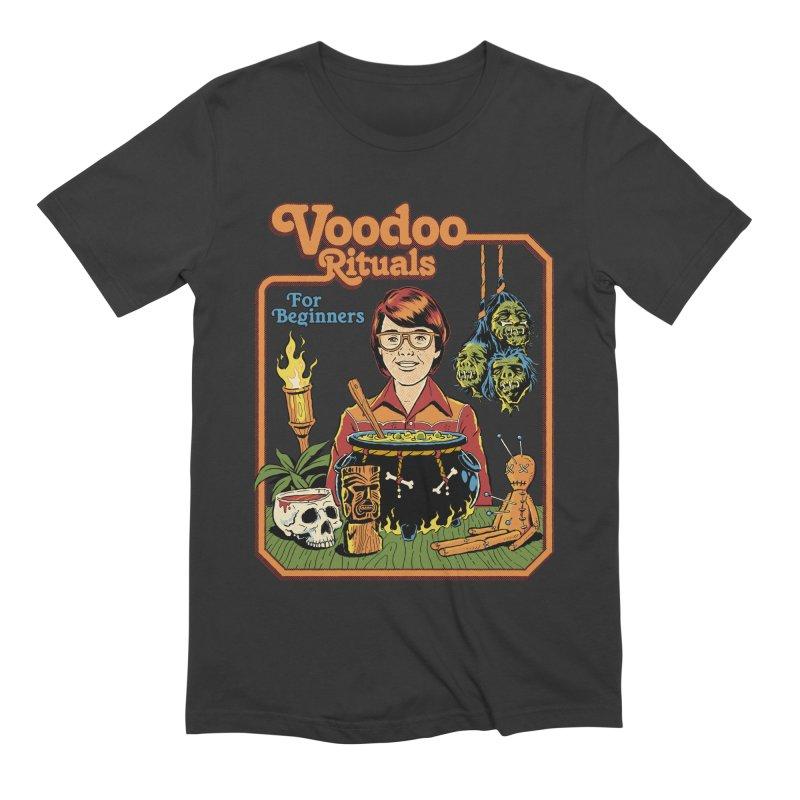 Voodoo Rituals For Beginners Men's T-Shirt by Steven Rhodes