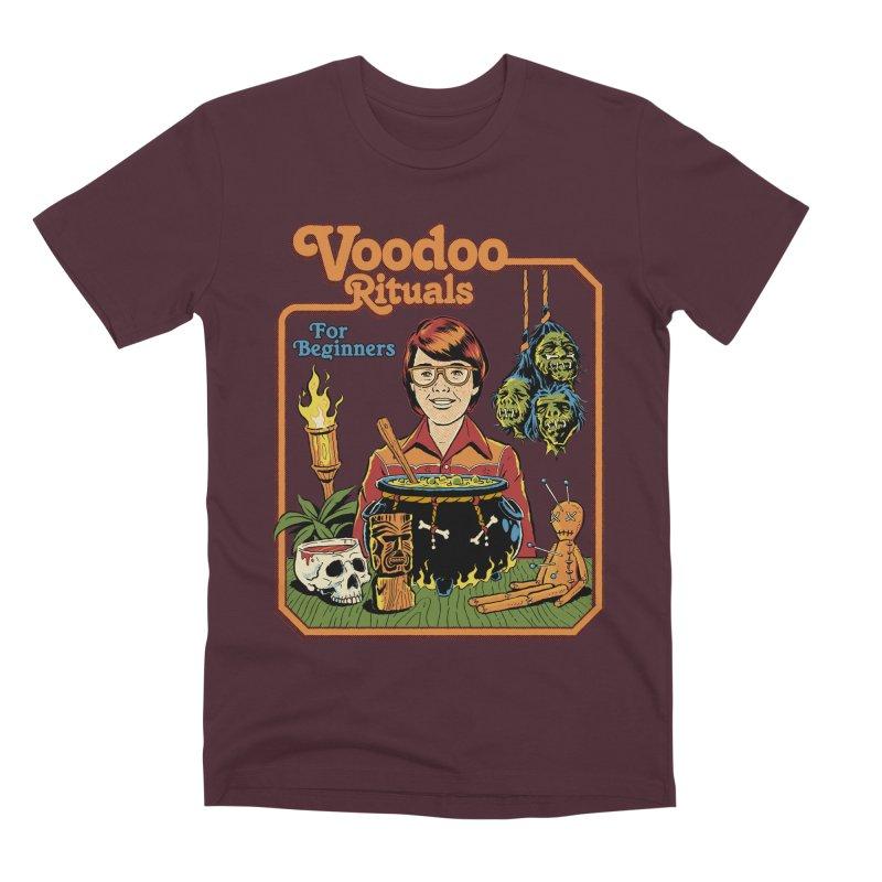 Voodoo Rituals For Beginners Men's Premium T-Shirt by Steven Rhodes
