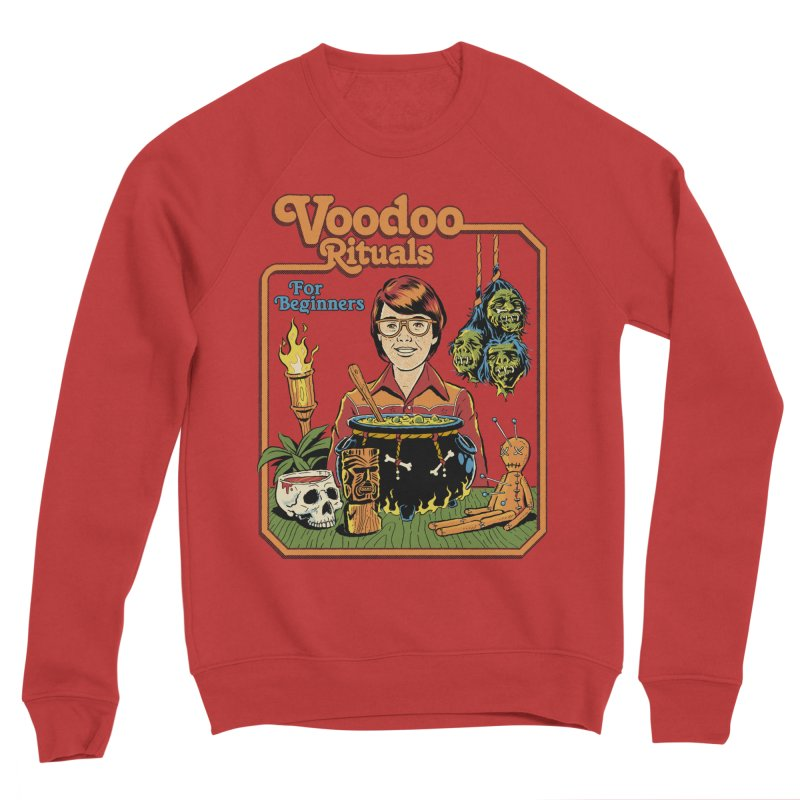 Voodoo Rituals For Beginners Men's Sponge Fleece Sweatshirt by Steven Rhodes