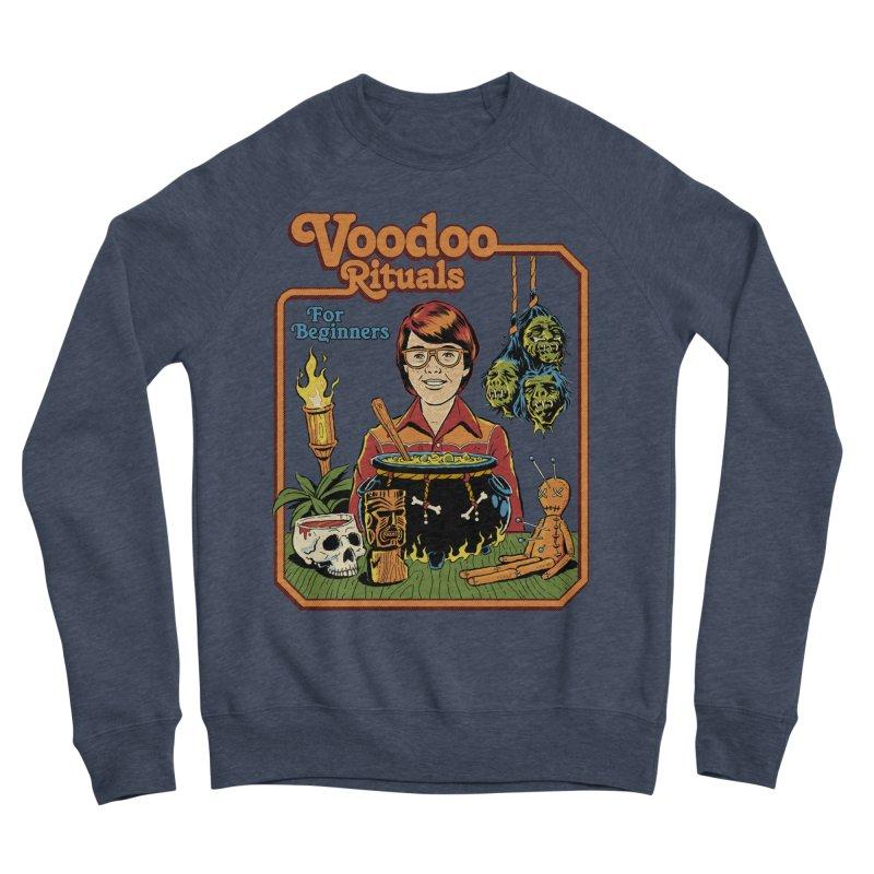 Voodoo Rituals For Beginners Men's Sponge Fleece Sweatshirt by Steven Rhodes
