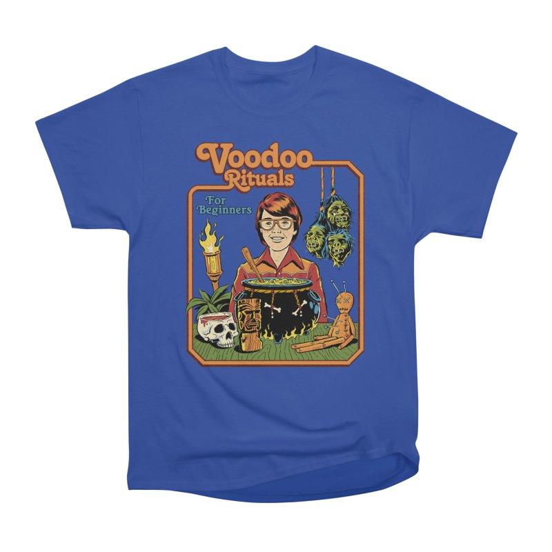 Voodoo Rituals For Beginners Men's Heavyweight T-Shirt by Steven Rhodes