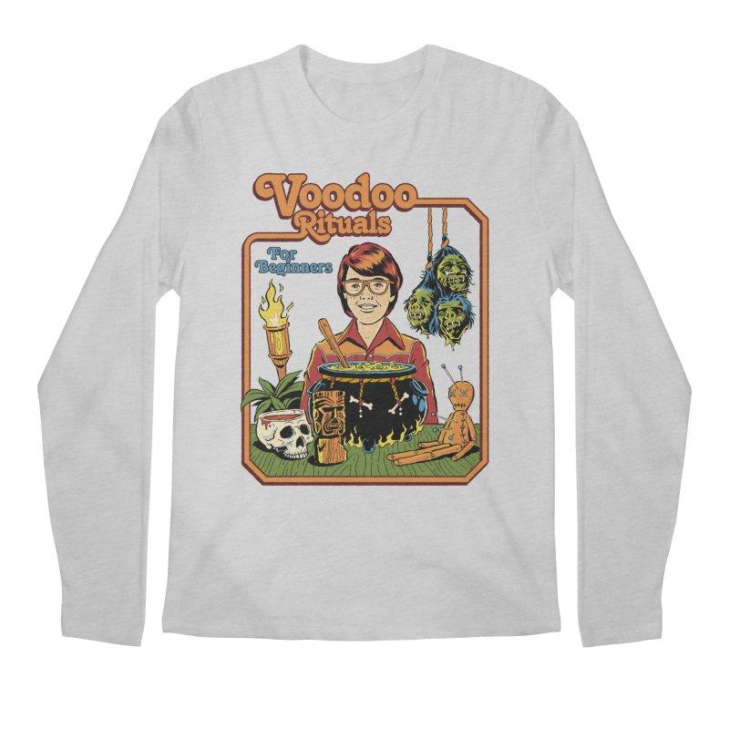 Voodoo Rituals For Beginners Men's Regular Longsleeve T-Shirt by Steven Rhodes