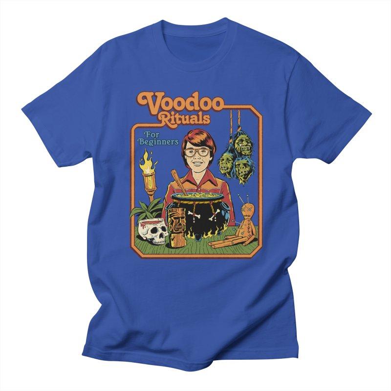 Voodoo Rituals For Beginners Men's Regular T-Shirt by Steven Rhodes