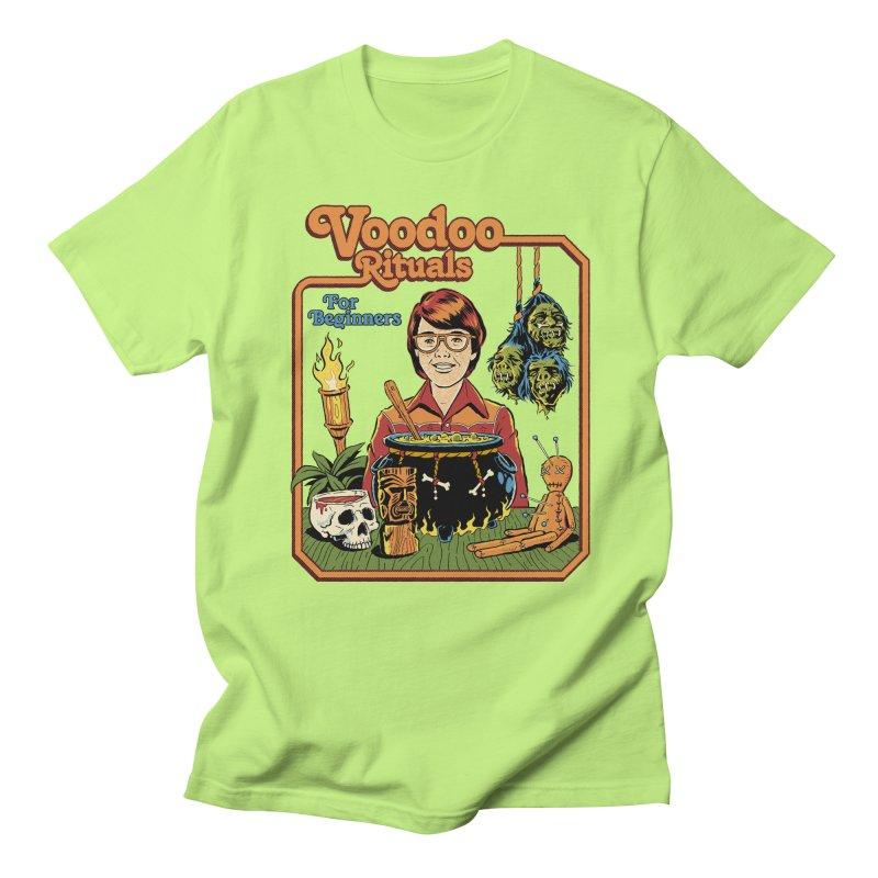 Voodoo Rituals For Beginners Women's Regular Unisex T-Shirt by Steven Rhodes