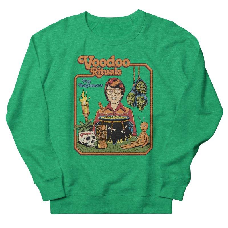Voodoo Rituals For Beginners Men's French Terry Sweatshirt by Steven Rhodes