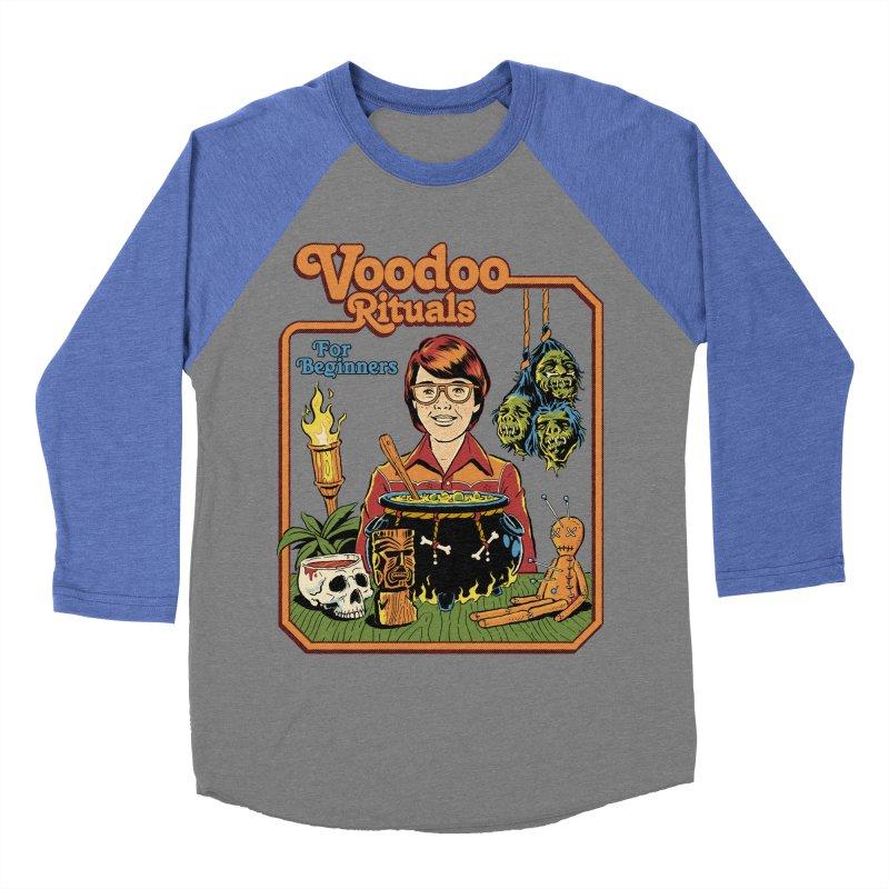 Voodoo Rituals For Beginners Women's Baseball Triblend Longsleeve T-Shirt by Steven Rhodes