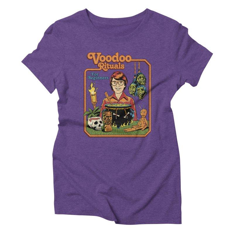 Voodoo Rituals For Beginners Women's Triblend T-Shirt by Steven Rhodes