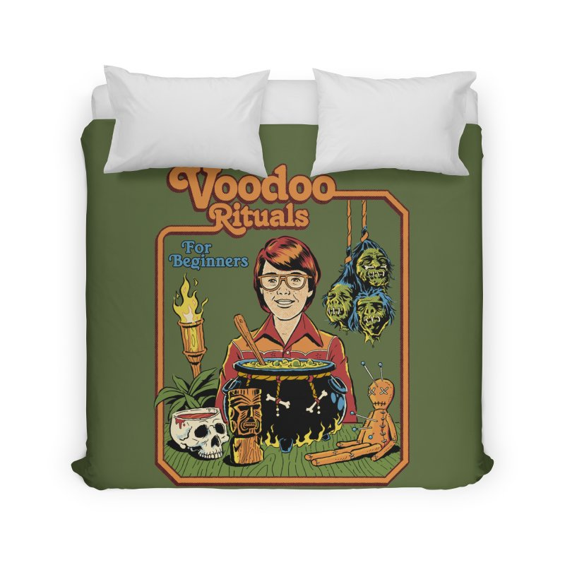 Voodoo Rituals For Beginners Home Duvet by Steven Rhodes