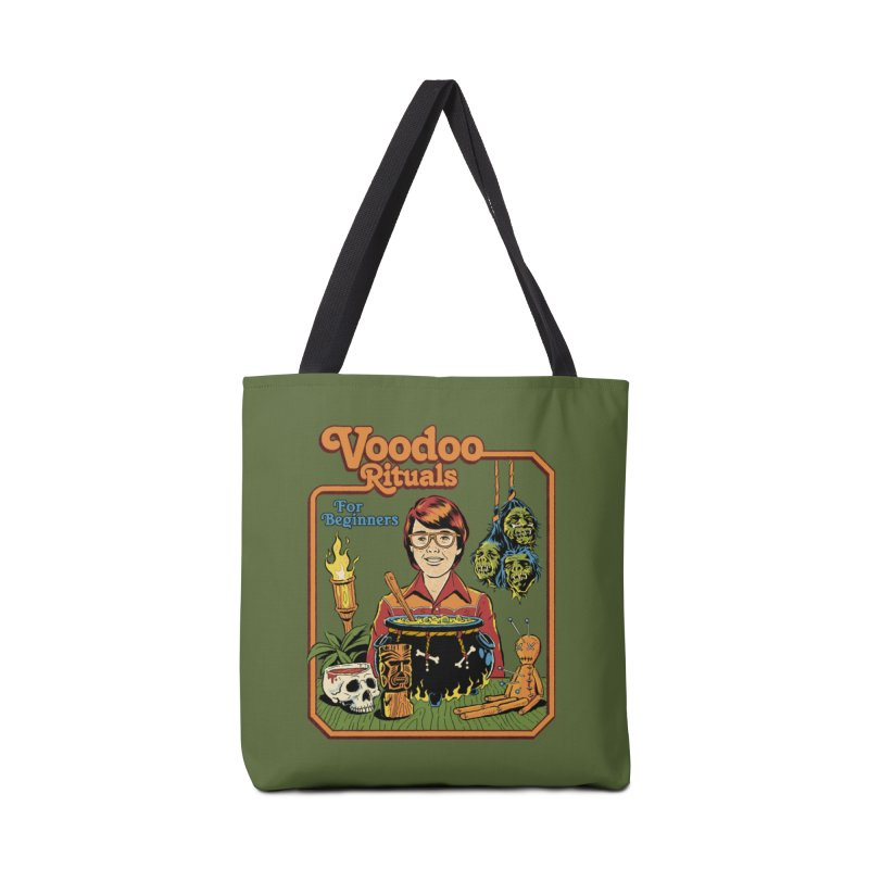Voodoo Rituals For Beginners Accessories Tote Bag Bag by Steven Rhodes