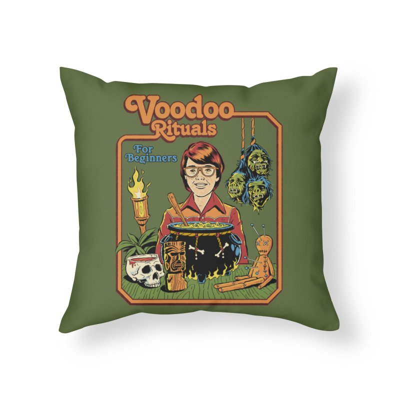 Voodoo Rituals For Beginners Home Throw Pillow by Steven Rhodes