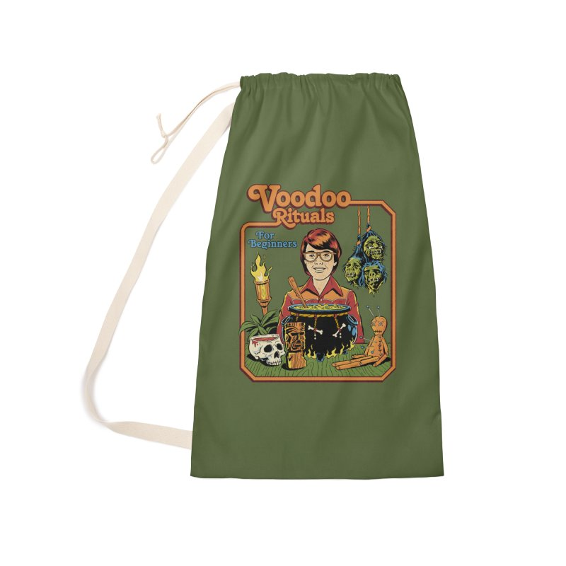 Voodoo Rituals For Beginners Accessories Laundry Bag Bag by Steven Rhodes
