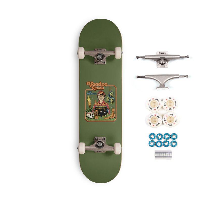 Voodoo Rituals For Beginners Accessories Complete - Premium Skateboard by Steven Rhodes