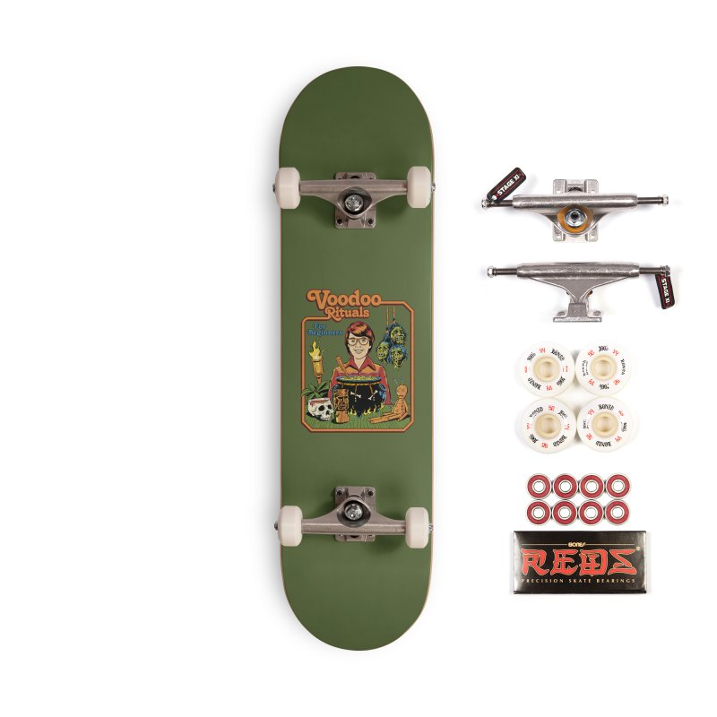 Voodoo Rituals For Beginners Accessories Complete - Pro Skateboard by Steven Rhodes