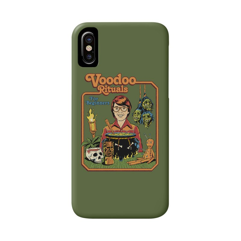 Voodoo Rituals For Beginners Accessories Phone Case by Steven Rhodes
