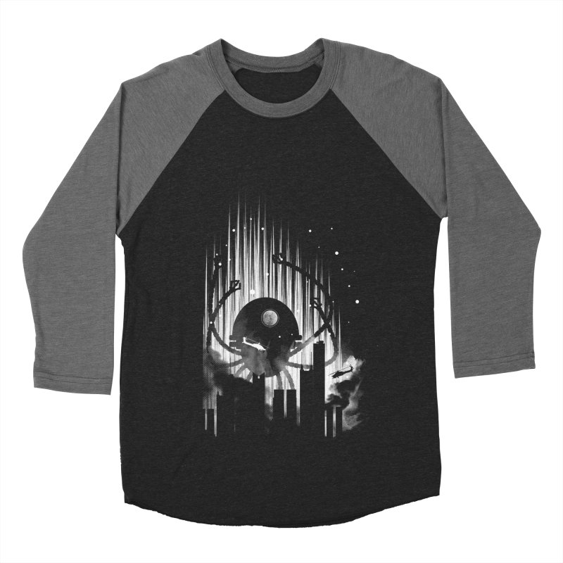 Invasion Women's Baseball Triblend T-Shirt by Steven Toang