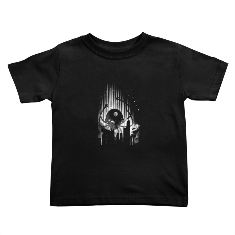 Invasion Kids Toddler T-Shirt by Steven Toang