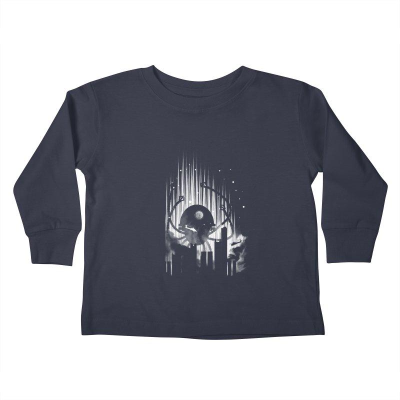 Invasion Kids Toddler Longsleeve T-Shirt by Steven Toang
