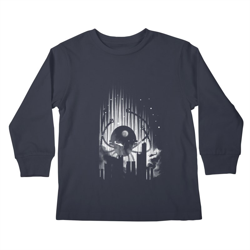 Invasion Kids Longsleeve T-Shirt by Steven Toang