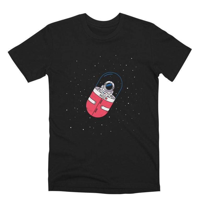Space Capsule Men's Premium T-Shirt by Steven Toang