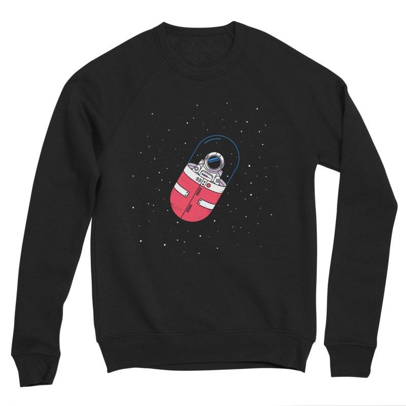 Space Capsule Men's Sponge Fleece Sweatshirt by Steven Toang