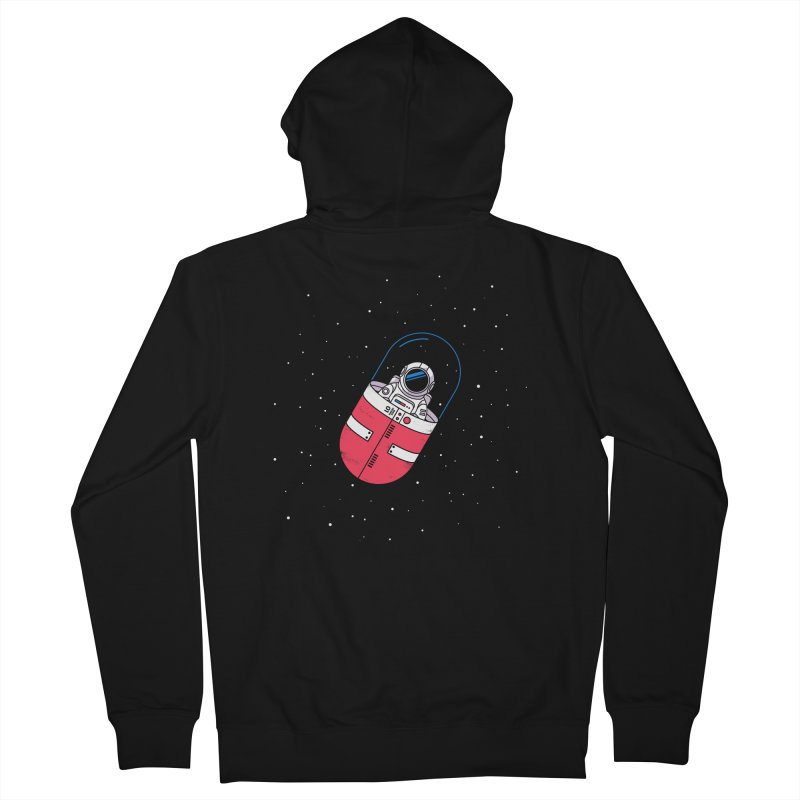 Space Capsule Women's French Terry Zip-Up Hoody by Steven Toang