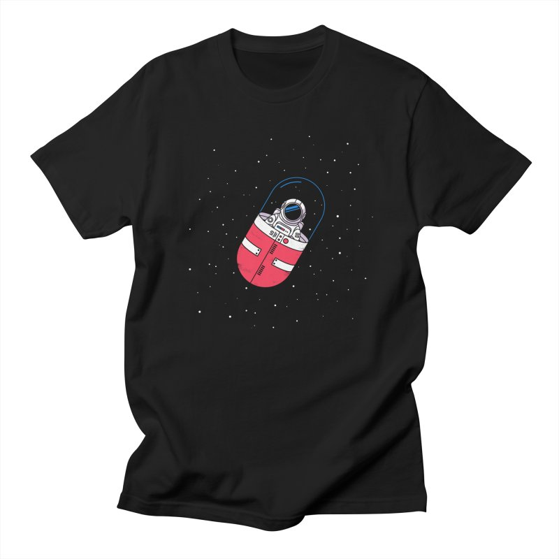 Space Capsule Men's Regular T-Shirt by Steven Toang