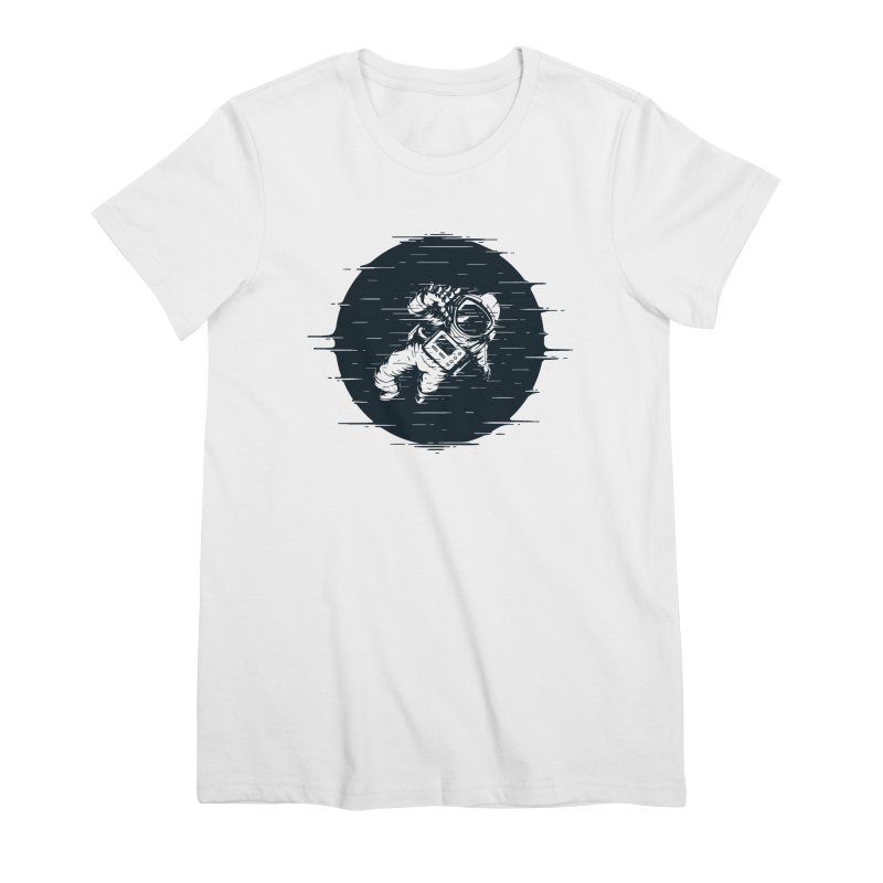Glitch Space Women's T-Shirt by Steven Toang