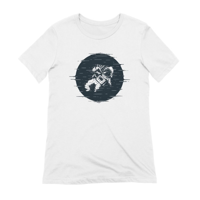 Glitch Space Women's Extra Soft T-Shirt by Steven Toang