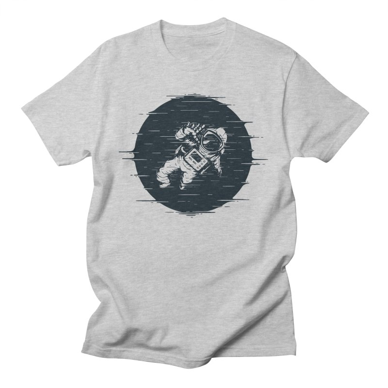 Glitch Space Men's T-Shirt by Steven Toang