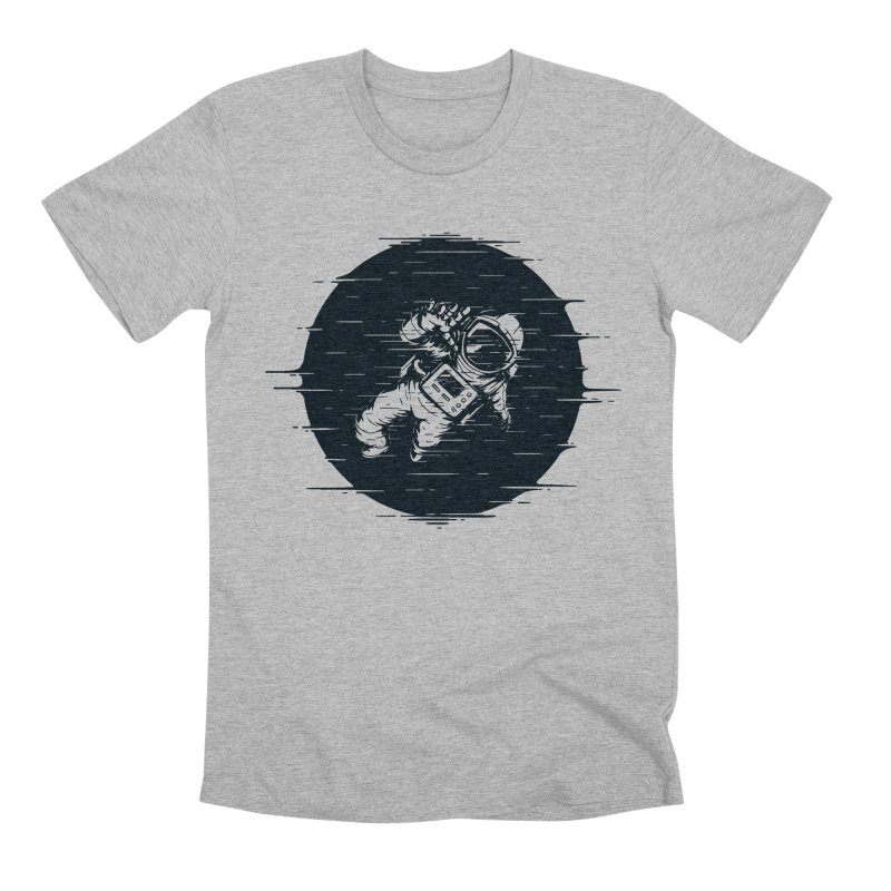 Glitch Space Men's Premium T-Shirt by Steven Toang