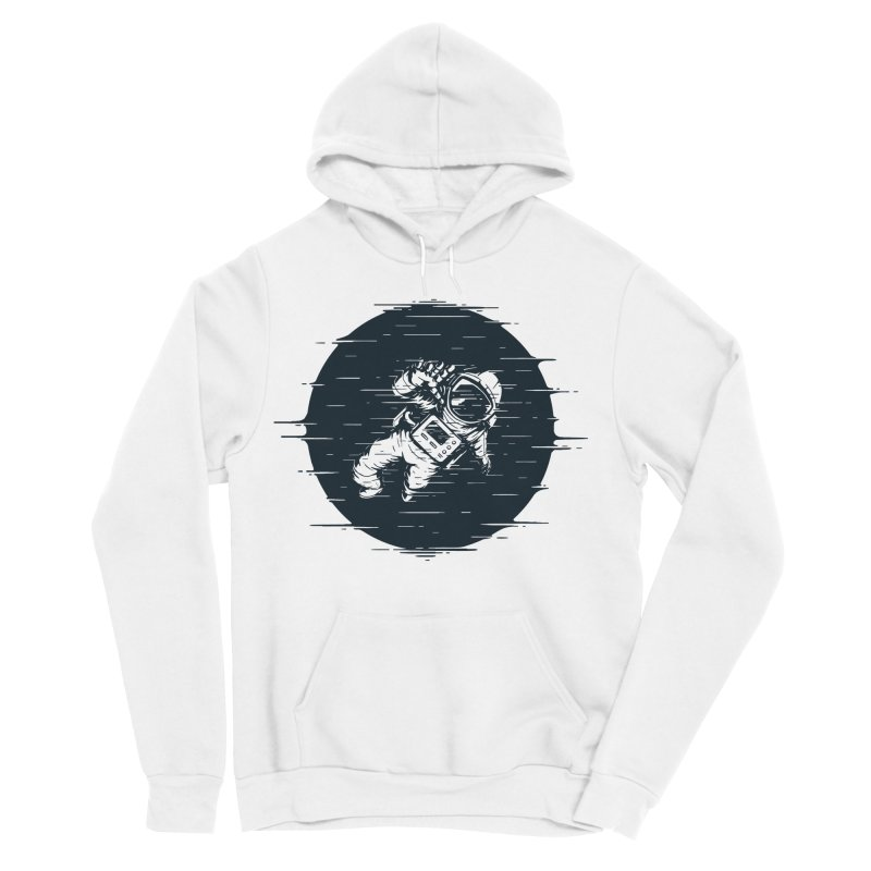 Glitch Space Men's Pullover Hoody by Steven Toang