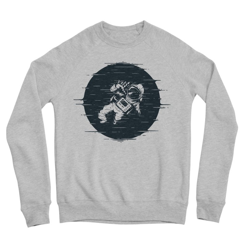 Glitch Space Women's Sponge Fleece Sweatshirt by Steven Toang