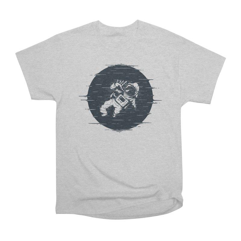 Glitch Space Women's Heavyweight Unisex T-Shirt by Steven Toang