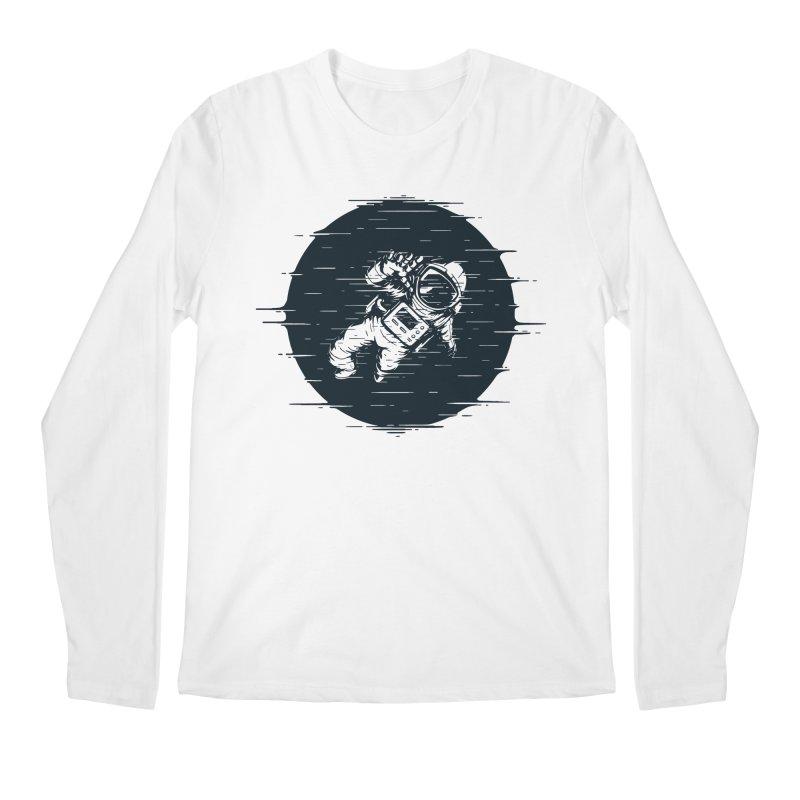 Glitch Space Men's Regular Longsleeve T-Shirt by Steven Toang