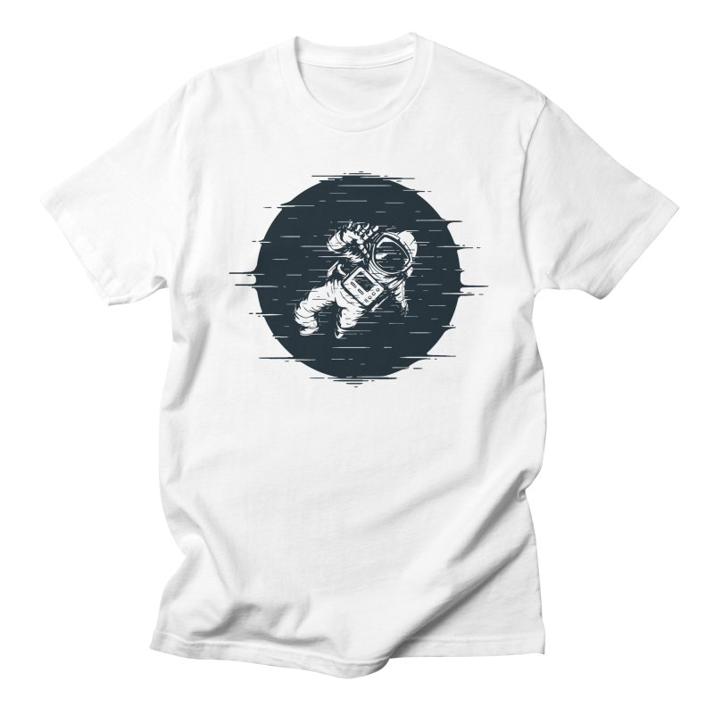Glitch Space Men's Regular T-Shirt by Steven Toang