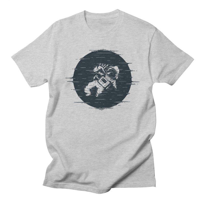 Glitch Space Women's Regular Unisex T-Shirt by Steven Toang