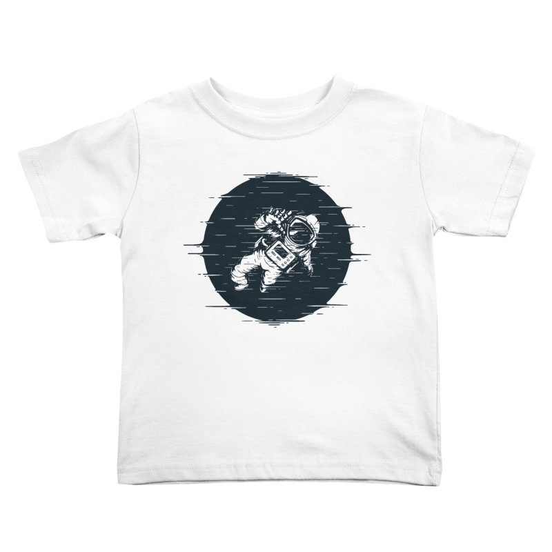 Glitch Space Kids Toddler T-Shirt by Steven Toang