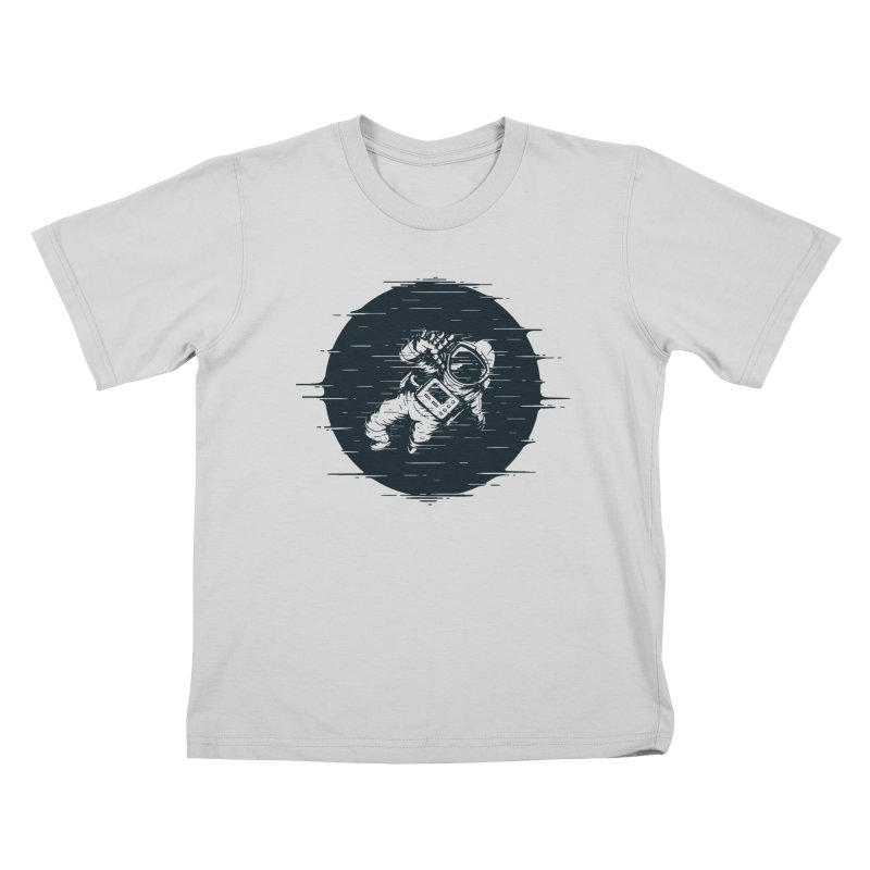 Glitch Space Kids T-Shirt by Steven Toang