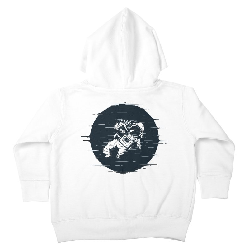 Glitch Space Kids Toddler Zip-Up Hoody by Steven Toang