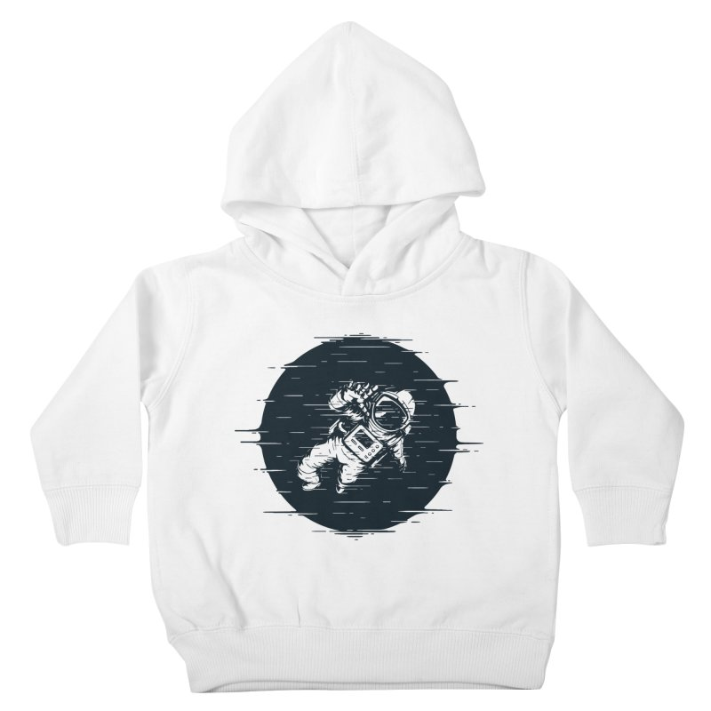 Glitch Space Kids Toddler Pullover Hoody by Steven Toang