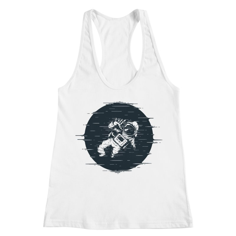 Glitch Space Women's Racerback Tank by Steven Toang