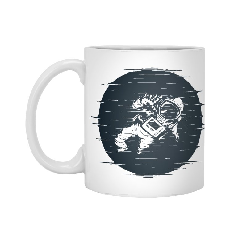 Glitch Space Accessories Mug by Steven Toang