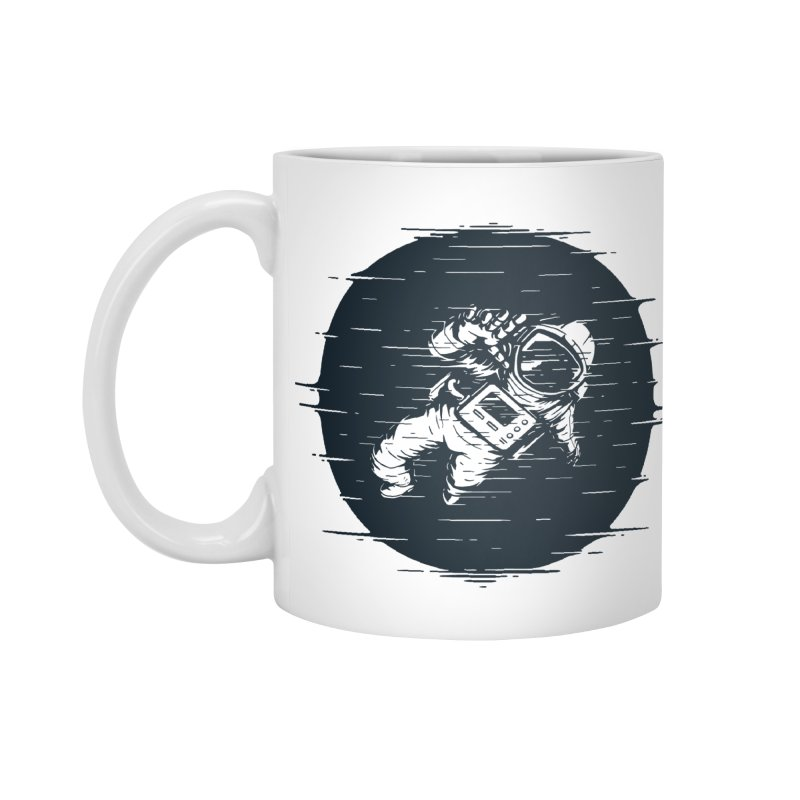 Glitch Space Accessories Standard Mug by Steven Toang