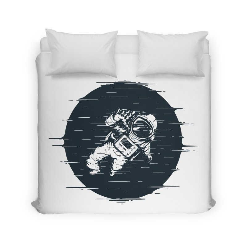 Glitch Space Home Duvet by Steven Toang