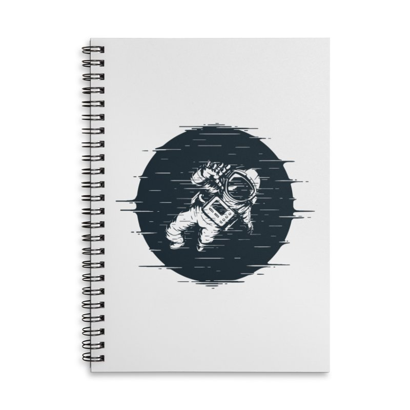 Glitch Space Accessories Notebook by Steven Toang