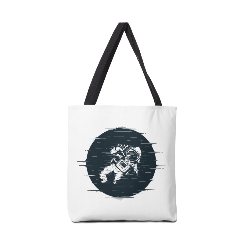 Glitch Space Accessories Tote Bag Bag by Steven Toang